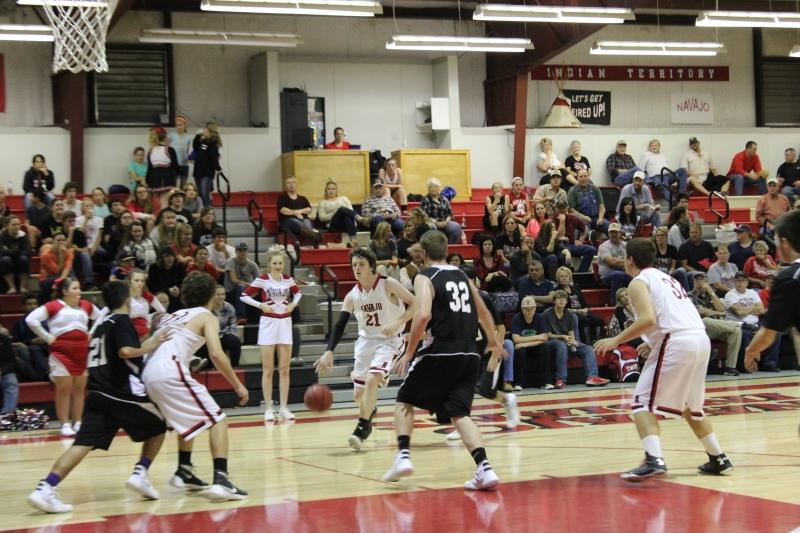 First Home Boys Basketball game of the Season