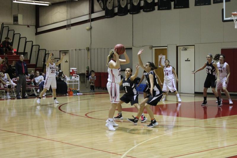 First Home Girls Basketball game of the Season