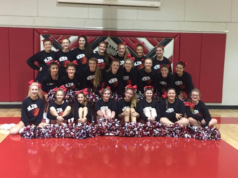 2016 HS-JH Cheerleaders