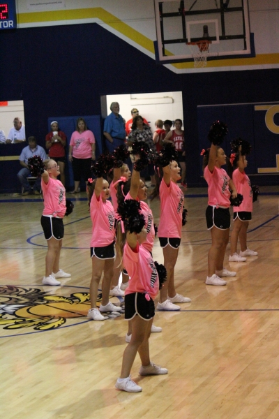 Elementary Cheer at the Olustee Tourn